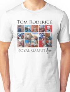 Tom Roderick - Royal Gamut Art Unisex T-Shirt
