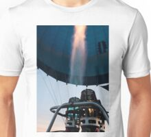 Hot air balloon gas burner and flame  Unisex T-Shirt