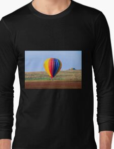 inflated Hot air balloon. Photographed in israel Long Sleeve T-Shirt
