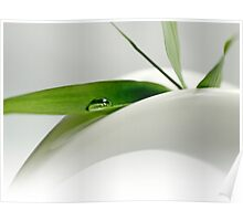 Green Drop Poster