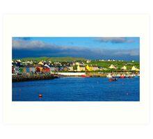 Portmagee, Co. Kerry, Ireland Art Print