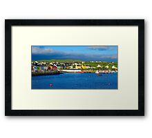 Portmagee, Co. Kerry, Ireland Framed Print