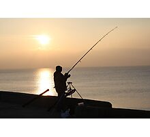 john fishing Photographic Print