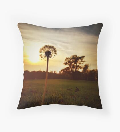 Sometimes the Sun Spangles Throw Pillow