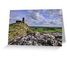 Brentor Church, Dartmoor National Park - Devon Greeting Card