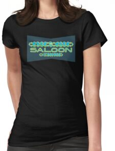Edge Case Saloon Womens Fitted T-Shirt