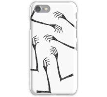 creep hands iPhone Case/Skin