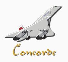 Concorde T-shirt, etc.  design Kids Tee