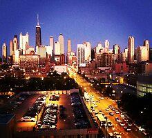 Chicago Skyline by 1grayweim