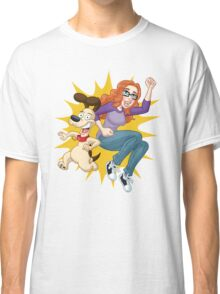 Jenn & Bueno: Action-Packed Jump!  Classic T-Shirt