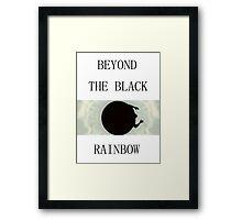Beyond the Black Rainbow - Cult Horror Framed Print