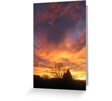 Lincolnshire Sunrise Greeting Card
