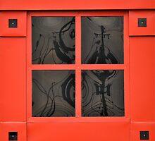 Red window  by richard  webb