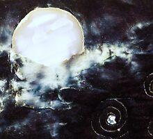 Planet Caravan- Detail I by Pamela Gregan