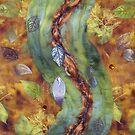 Falling 2011 - Softly September Detail by Pamela Gregan