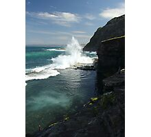 Bogey Hole, Newcastle. Australia Photographic Print