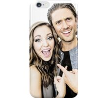 Aaron Tveit and Laura Osnes iPhone Case/Skin