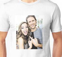 Aaron Tveit and Laura Osnes Unisex T-Shirt