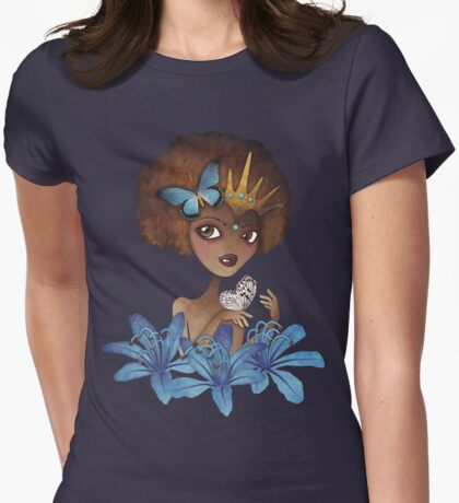 Lily of the Nile Womens Fitted T-Shirt