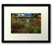 Historic Highway Bridge - Susan River Framed Print