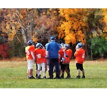 The Huddle Photographic Print