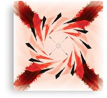 X Red Canvas Print