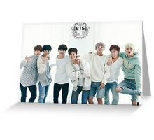 BTS/Bangtan Sonyeondan - Season's Greetings #1 Greeting Card