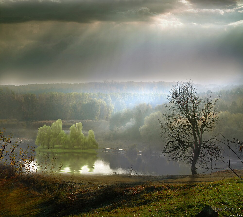 Fishing in November by Igor Zenin