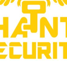 PHANTO SECURITY SYSTEMS Sticker