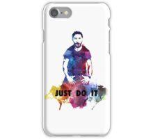 Just Do It Shia Labeouf Colourful iPhone Case/Skin