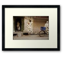 Then I asked him to jump... Framed Print