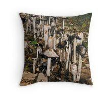 much-rooms? Throw Pillow