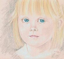 Portrait of Lily by Karen  Securius