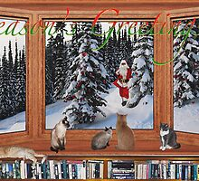 My 2011 Christmas card by Odille Esmonde-Morgan