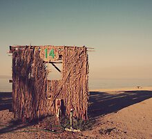 Beach Hut Number Fourteen by Laurie Search