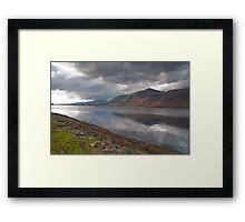 Clouds over Loch Eil Framed Print