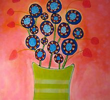 Flower People  by Kim  Magee