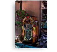 "Winsteads Drive In - Jukebox ""Rock Around the Clock"" Canvas Print"