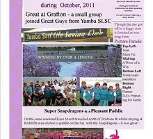 October 2011 DA Hunter Newsletter page 1 by KazM