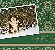 Christmas Card No 5 by FLCV