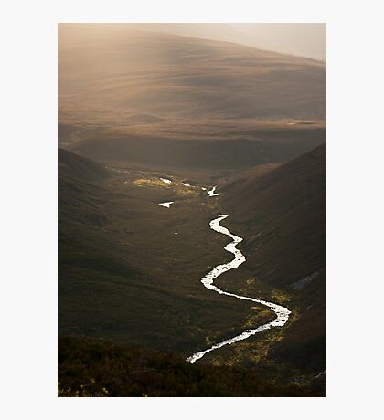 Glorious light in the Cairngorms Photographic Print