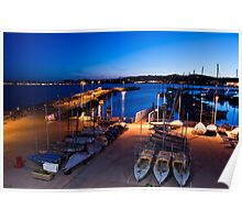 Torbay at Night Poster