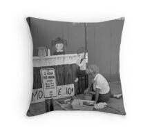 Tin Canvas Throw Pillow