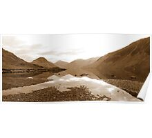 Wastwater Panorama Poster