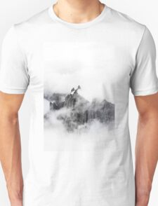 Voice and Reality BW #redbubble T-Shirt