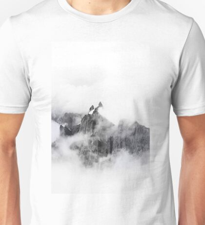 Voice and Reality BW #redbubble Unisex T-Shirt