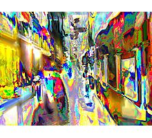 Color 360 Degrees Photographic Print