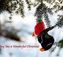 Penquin Christmas by Elaine  Manley