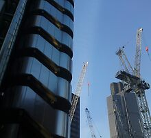 City of London Under Construction by Chris Millar