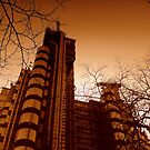 Lloyds London in Winter by Chris Millar